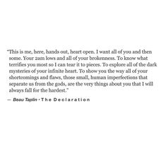 Pretty Words, Beautiful Words, Beau Taplin Quotes, Long Distance Relationship Quotes, Perfection Quotes, Love Hurts, Me Quotes, Random Quotes, Thoughts And Feelings