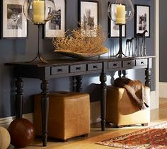 Attrayant Long Skinny Entry Table Home Ideas