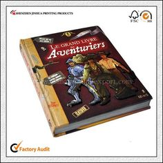 High Quality Offset Printed Hardcover Book Printing