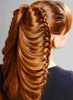 19 coupes de cheveux qui prouvent bien que la coiffure est un art ! Impressionnant...