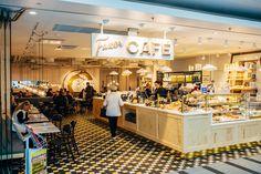 (c) Jussi Hellsten. 6.10.2014.  Newly renovated Karl Fazer Café at Forum jussihellsten.com & visithelsinki.fi
