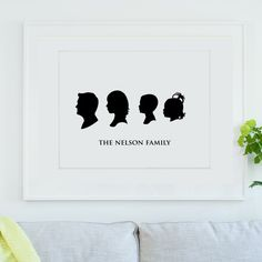 Custom from Photographs - 3 or more Silhouettes from Le Papier Studio