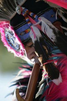 Allen Paquin...fancy dancer, native performer and good friend of mine.