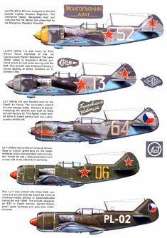 Lavochkin La-7.