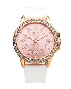 #festivefaves Juicy Couture Jetsetter Rose Gold Watch $195 @Juicy Couture
