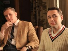 Casual Friday at Sterling Cooper. #VincentKartheiser #MadMen #PeteCampbell