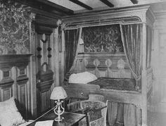 B-57 First Class Bedroom of the Titanic.