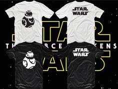Star wars T-shirt BB-8 force awekens par IvanUkatoshop sur Etsy