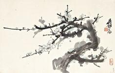 Plum Blossoms: ZHANG DAQIAN (CHANG DAI-CHIEN),1899-1983, Lot | Sotheby's
