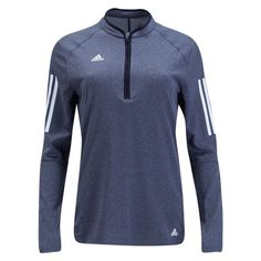 adidas Tango Womens 1/4 Zip Long Sleeve Top