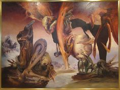 james gleeson - Google Search Australian Artists, Surrealism, Fiction, Artwork, Art Ideas, Inspire, Painting, Inspiration, Google Search