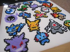 Hey, I found this really awesome Etsy listing at http://www.etsy.com/listing/161115887/pokemon-perler-bead-sprites