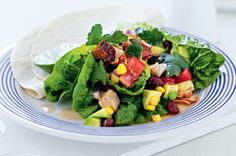 Have a summer full of salad days with this tasty, low-fat meal which is ready in 15 minutes.