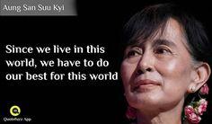 21 Best Aung San Suu Kyi Quotes Images Quotes App