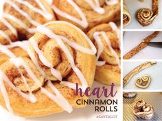 Sweetheart Cinnamon Rolls! Perfect for the kids (or your husband), ha!
