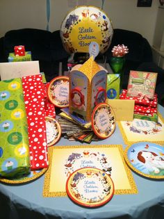 Two Crazy Crafters: Twyla on Tuesday - Birthday Party.  Little Golden Book party decor!
