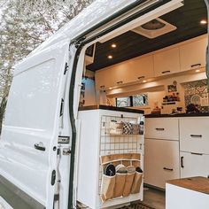 Van Conversion Ford Transit, Van Conversion Interior, Camper Van Conversion Diy, Van Interior, Ford Transit Campervan, Van Conversion Project, Build A Camper Van, Diy Camper, Converted Vans