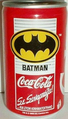 Coca Cola Batman...