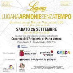 Lugana, Armonie senza Tempo - a Peschiera del Garda (VR) - il 26 settembre 2015  http://www.prodottiakmzero.com/2015/09/22/lugana-armonie-senza-tempo-il-26-settembre-2015-a-peschiera-del-garda-vr/