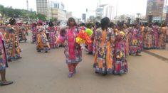 Journée Internationale de la femme 2018 : les femmes #Cameroun-aises réagissent: Au terme du défilé marquant le clou de la… #Team237