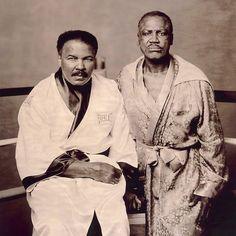 Muhammad Ali & Smokin Joe Fraiser ~ Heavy Weight Boxing Greats