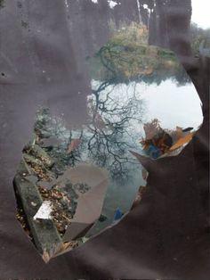 "Saatchi Art Artist Stefan Fransson; Collage, ""Late fall. Edition: 1-20"" #art"