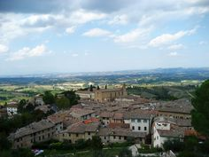 Florence, Italy * view of the countryside