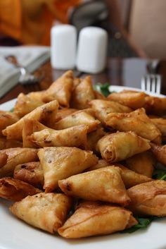 An Indian favorite: Vegetable #samosa