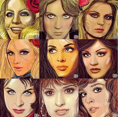 Sevilen Filmleri ve Oyuncuları Hiç Böyle Görmediniz! İşte Instagram'dan 23 Muhteşem Çizim