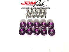 JDMFresh - JDMFresh - Fender Washer Kit Bolt 6MM - Purple, $9.99 (https://www.jdmfresh.com/jdmfresh-fender-washer-kit-bolt-6mm-purple/)