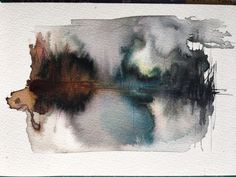 """found-fabricated: """"Landscape drawing 7x5"""" """""""