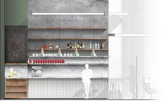 Urban Villa London / Grzywinski+Pons - architectural elevation render