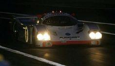 Hans Stuck. Porsche 962 Joest. 1990 Le Mans 24h.