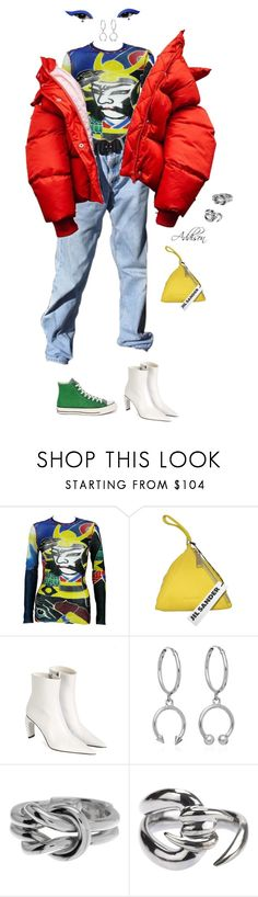 """Untitled #794"" by fashionoise ❤ liked on Polyvore featuring Jean-Paul Gaultier, Jil Sander, MISBHV, Converse, Maria Francesca Pepe, Gucci and Stephen Webster"