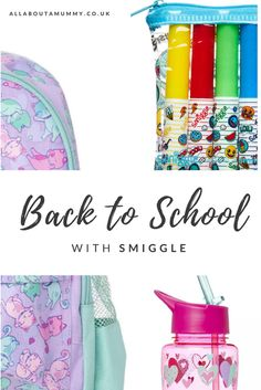 Just a week left until the kids go back to school. It is a special one for us this year as Little E starts Junior School and Little I has her first day at school! With 2 girls in the house there is only one place they want to get their school backp Going Back To School, Little My, First Day Of School, About Me Blog, Posts, First Day Of Class, Messages