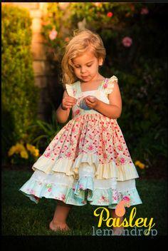pretty pink easter princess dress! adorable! ❥http://paisleylemondrop.com/ ❥