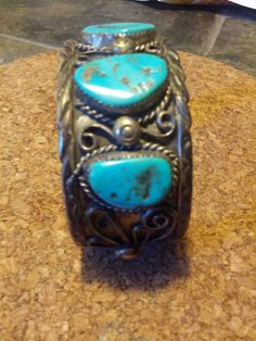 Navajo cuff bracelet authentic 1960s by DrewsCollectibles on Etsy, $160.00