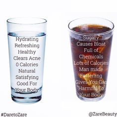 """""""Be sure to hydrate for healthy skin. But hydrate wisely! 