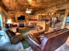 Slice Au0027 Heaven   Bryson City Cabin Rentals 2 Bedroom/1.5 Bath Cabin.