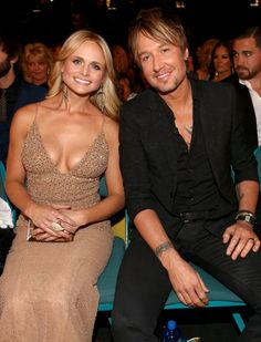Sitting pretty: Keith and Miranda Lambert sat together at the awards ceremony while Nicole was in Sydney filming Country Female Singers, Country Music Artists, Country Music Stars, Miranda Lambert Bikini, Miranda Lambert Photos, Keith Urban, Maranda Lambert, Nicole Kidman, Celebs