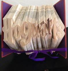 "I created a line fold pattern for my 730 page book. It created a nice, tight, finished product. This was folded in ""Goblet of Fire""."