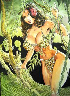 Cavewoman, Budd Root