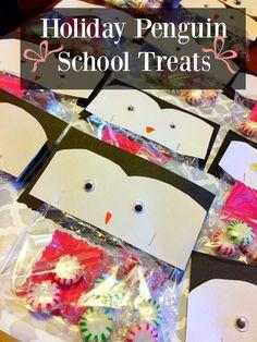 Holiday Penguin School Treats http://www.westernnewyorker.org/2016/12/penguin-treats.html