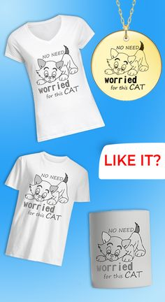 A cat lover and cat owner t-shirt. Here you can also collect mug and locket. Design Quotes, Funny Tees, Shirts With Sayings, Cat Lovers, Cats, T Shirt, How To Wear, Women, Funny Tee Shirts