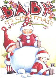 Baby It's Christmas - Mary Engelbreit