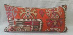 Check out this item in my Etsy shop https://www.etsy.com/listing/497102870/kilim-pillow-1224inches-lumbar-kilim