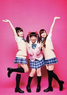 Yoshino, Sora, and Aina
