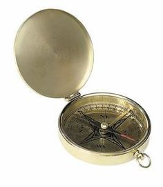 Knowledgeable Brass Nautical Decor Working Compass And Leather Case Perfect Traveler Gift Camp Antiques
