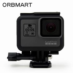 ORBMART Black Frame Protective Housing Case Shell For Go Pro GoPro Hero 5 Sport Camera Accessory