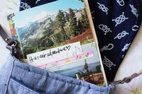 Vintage Postcard Travel Journal - A Beautiful Mess